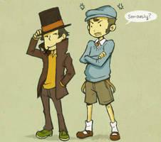 Professor Holmes by amasugiru