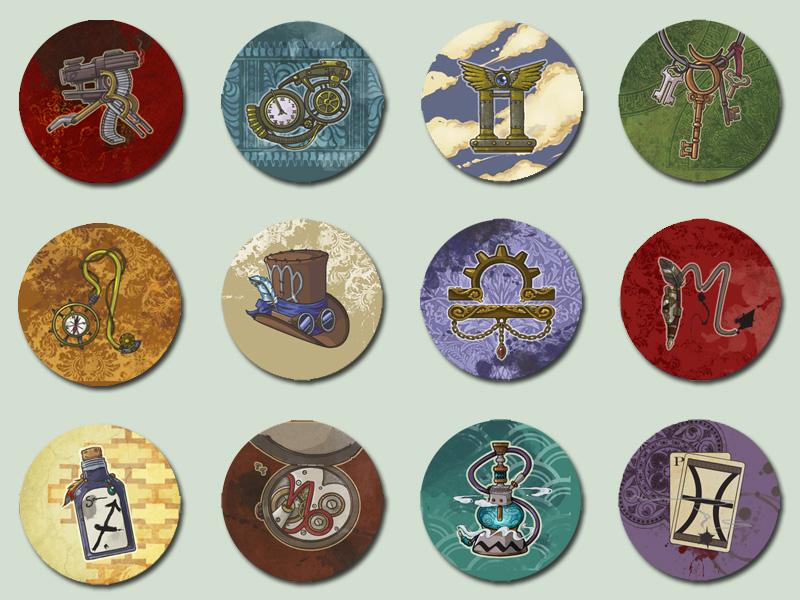 Steampunk Zodiac by amasugiru