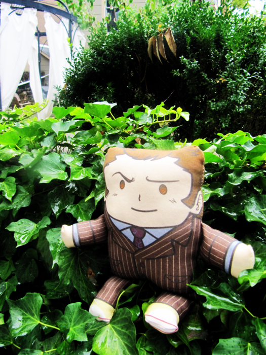 10th Doctor Pillow Plush by amasugiru