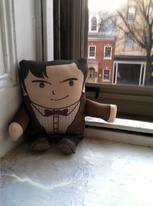 11th Doctor Plush by amasugiru