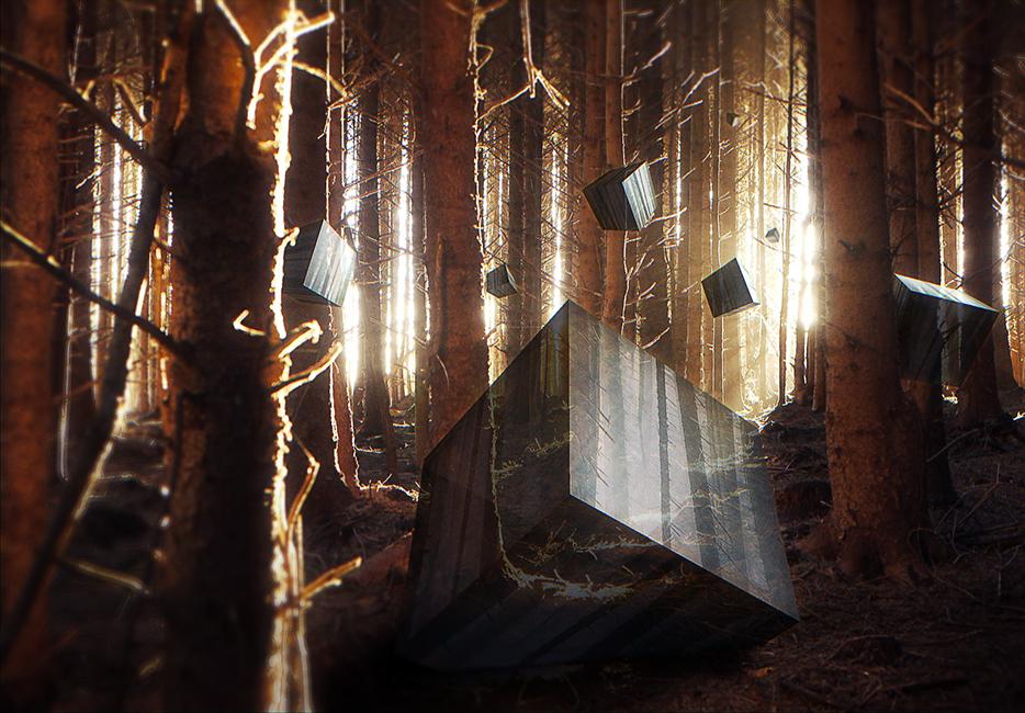 Cube Awakening by RichardGeorgeDavis