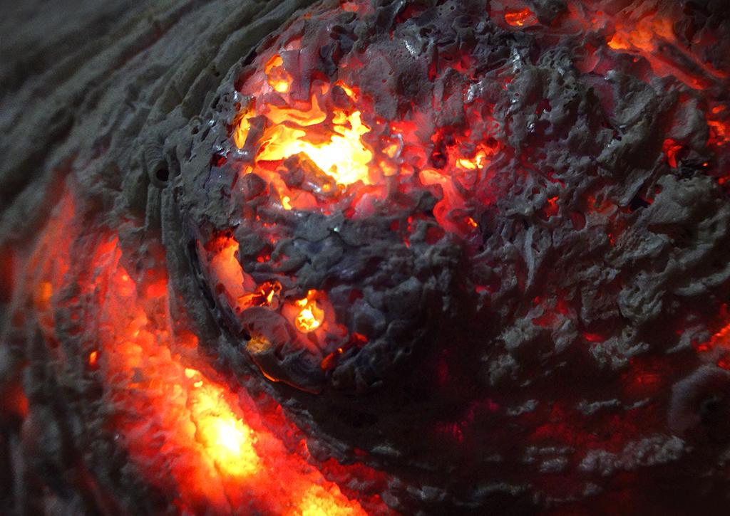 Flaming Seashell 5 by RichardGeorgeDavis