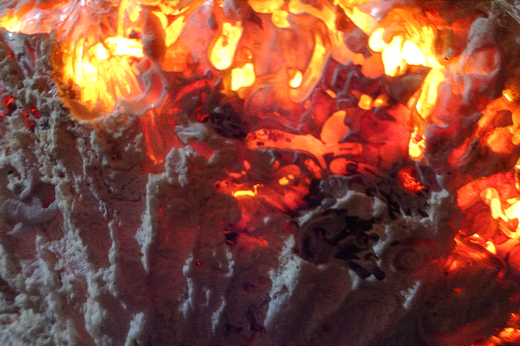 Flaming Seashell 4 by RichardGeorgeDavis