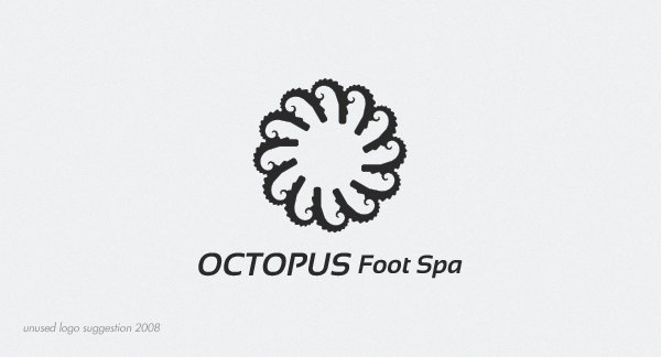 Octopus Foot Spa logo by RGDart