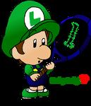 Baby Luigi Tennis