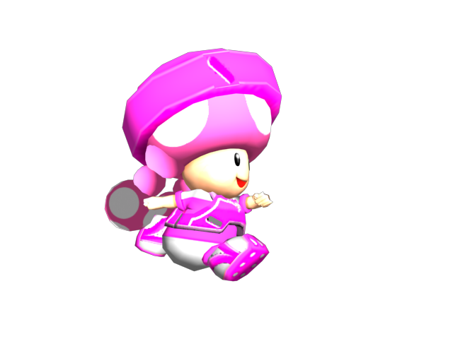 Toadette Strikers by BabyLuigiOnFire