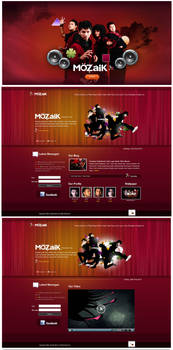 Mozaik Band - Website