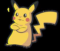 Pikachu by Nollaig