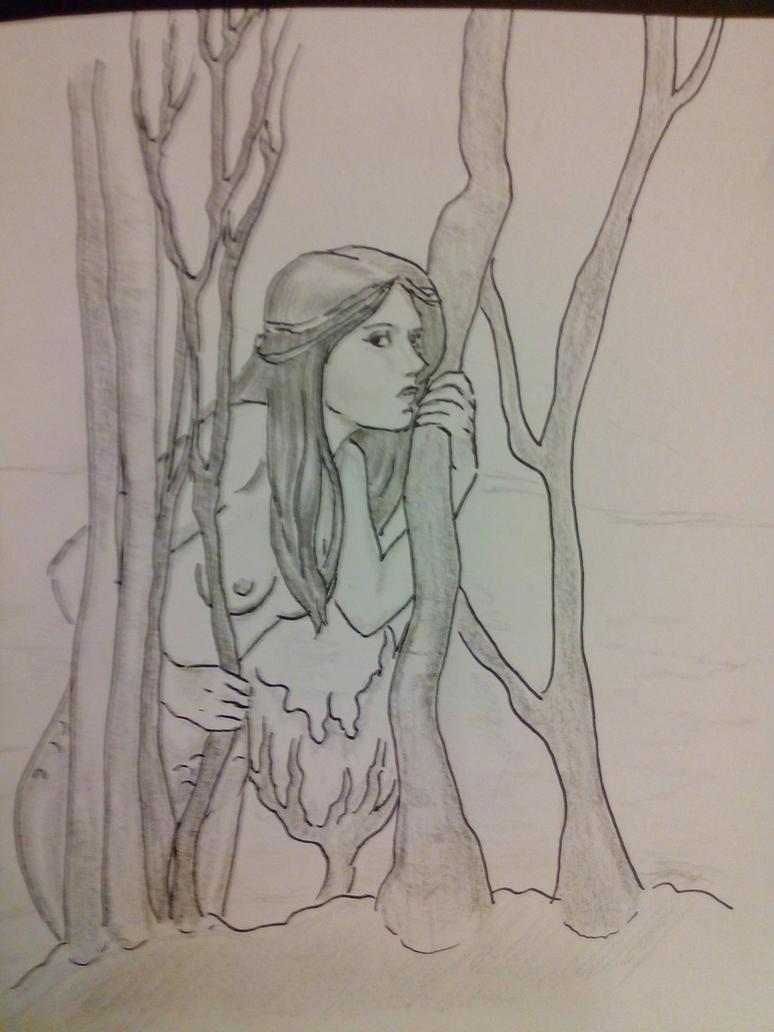 Mermaid. by Black-Ink-Princess