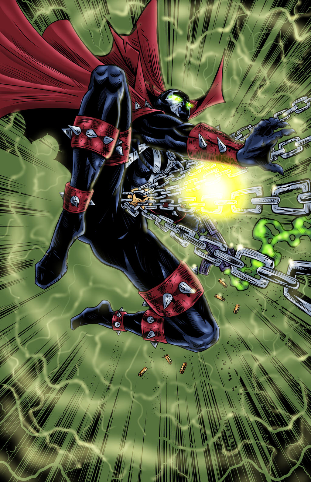 learning the different circles of hell in spawn by todd mcfarlane Empire counts down the 50 greatest comic book characters in the pantheon  created by spider-man legend todd macfarlane, spawn was a murdered cia operative who makes a.