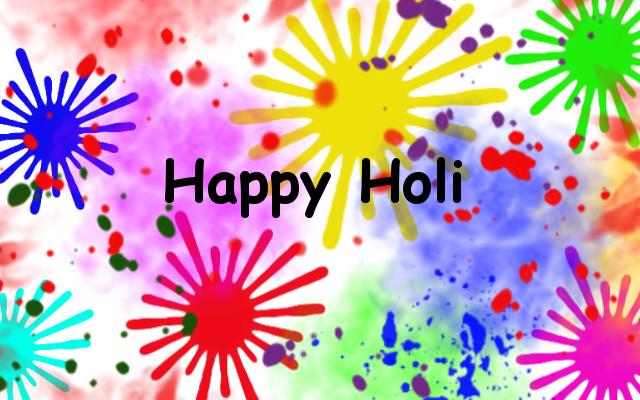 Happy Holi by Madhuchhanda