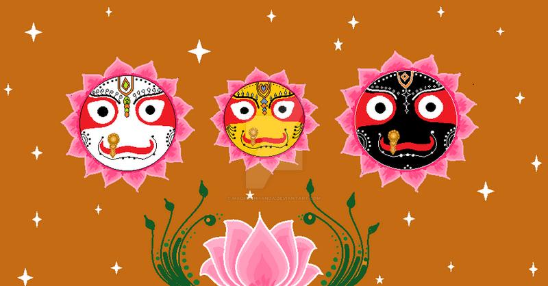 Happy Ratha Yatra by Madhuchhanda