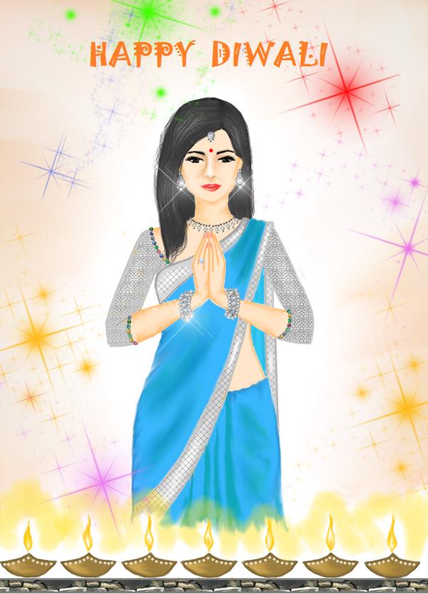 Happy Diwali by Madhuchhanda