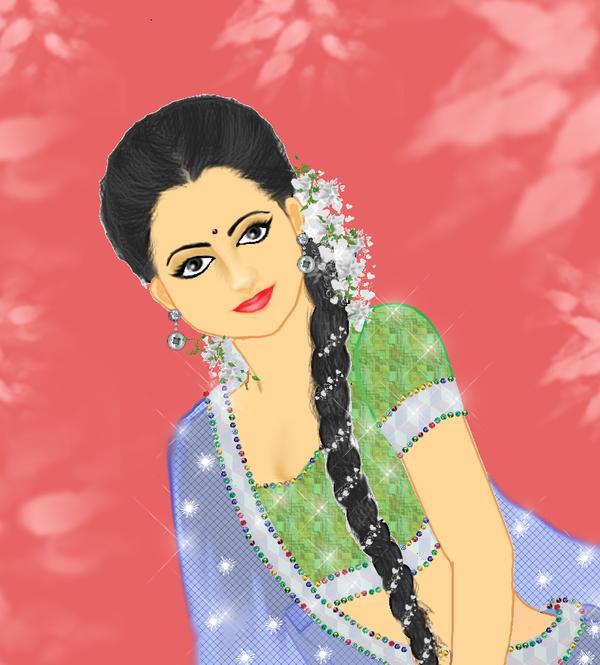 Girl potrait 2 by Madhuchhanda
