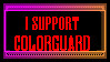 Colorguard Stamp by Smartacus