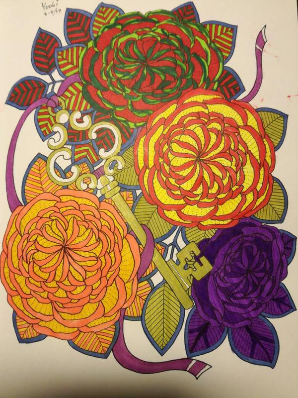 Fruit Flowers by KawaiiDragons