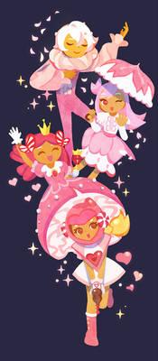 Pink Cookies(Cookie Run)