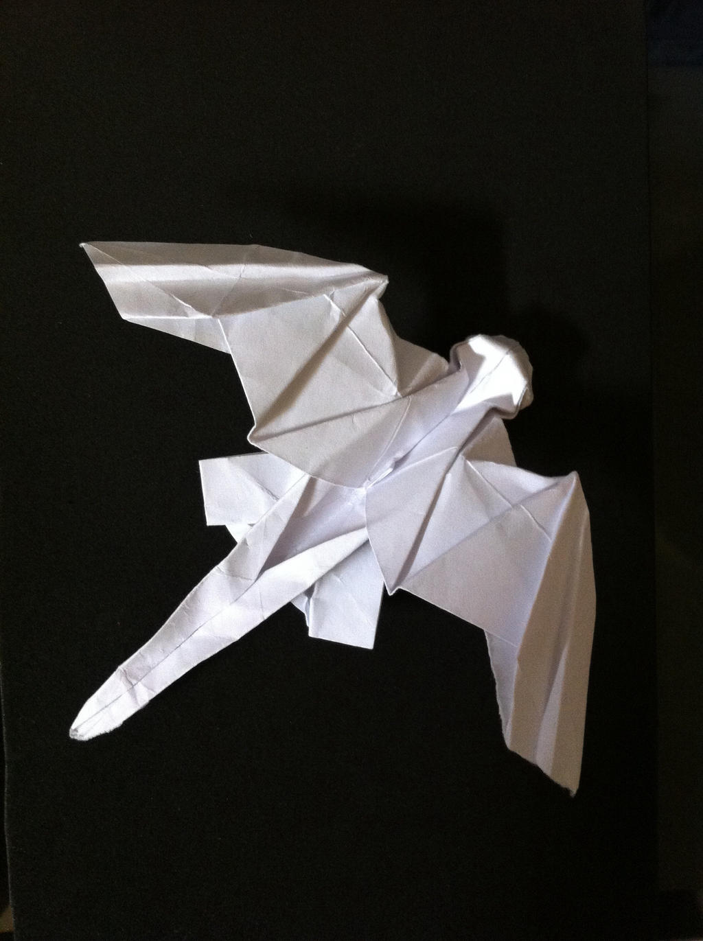 Toothless Origami by sssthehedgehog on deviantART - photo#3