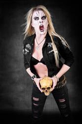 Black Metal Barbie2 by arbirtra