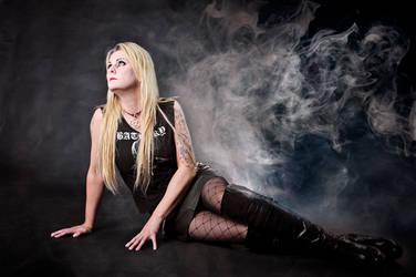 Black Metal Barbie4 by arbirtra
