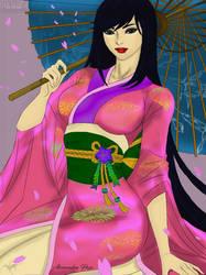 Color:Akiko   Line Art By Michellehoefener