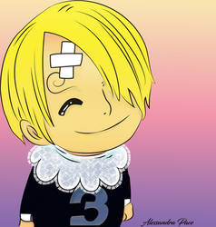 Color :Baby Sanji One Piece 852 By Fla29
