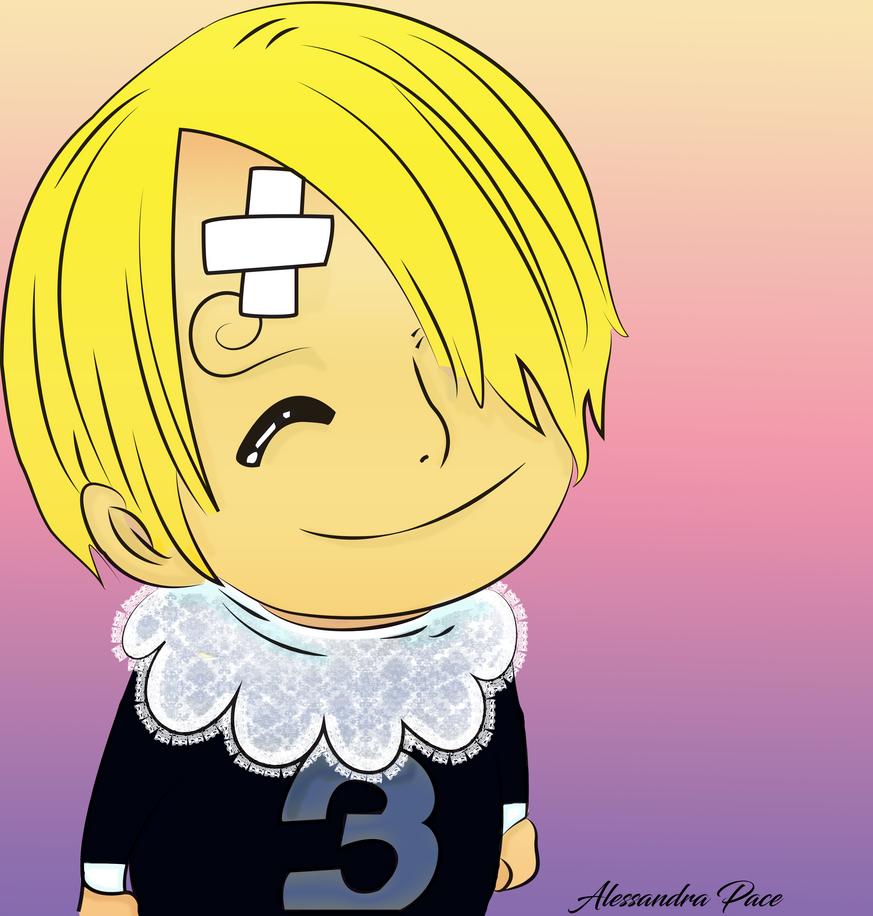 Color :Baby Sanji One Piece 852 By Fla29 by AlmaChiaraAlex