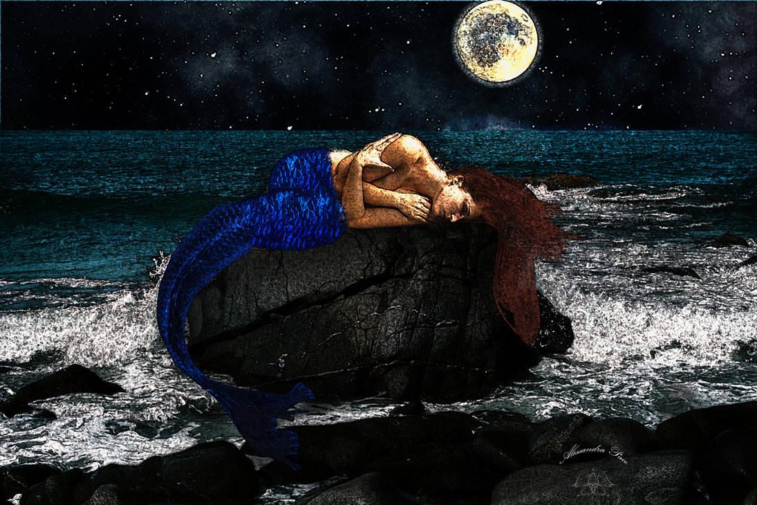 Sleeping-little-mermaid