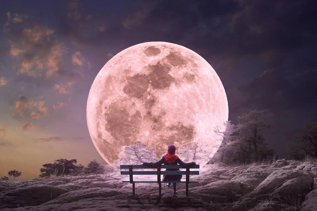 Strawberry-moon