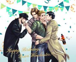 Happy birthday,  Dean Winchester!!!