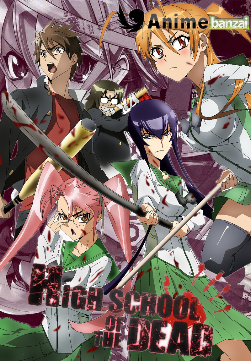 Highschool Of The Dead By Natsu9555 On Deviantart