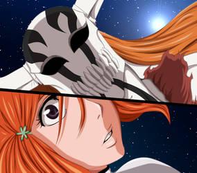 Bleach 350 - Ichigo and Orihime by Natsu9555