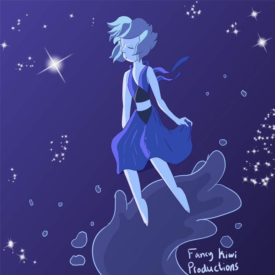 "I was really inspired by the episode ""Ocean Gem"" from Steven Universe, so I wanted to make a drawing based on it. ^-^"