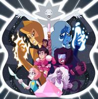 Steven Universe 2018 Promo Redraw by FancyKiwi