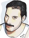 Freddie Mercury by NikSebastian