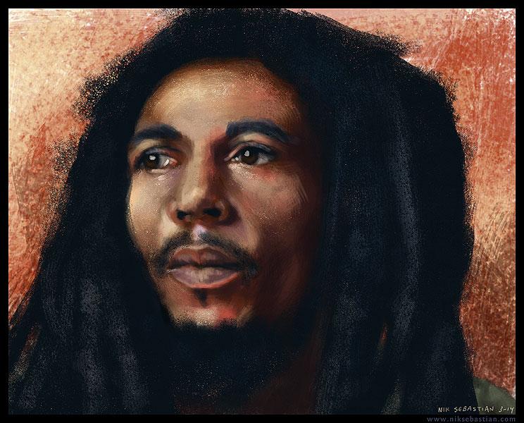 Bob Marley by NikSebastian