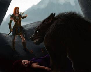 The Mistrustful Beast by NikSebastian
