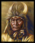 Golden Bull Chief by NikSebastian