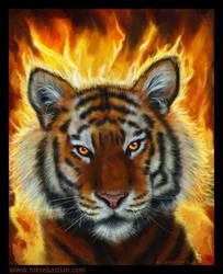 Fire Tiger by NikSebastian