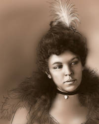 1900 Woman by NikSebastian
