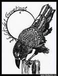 Yuletide Crow