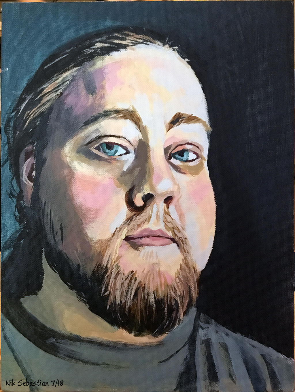 Self-Portrait by NikSebastian