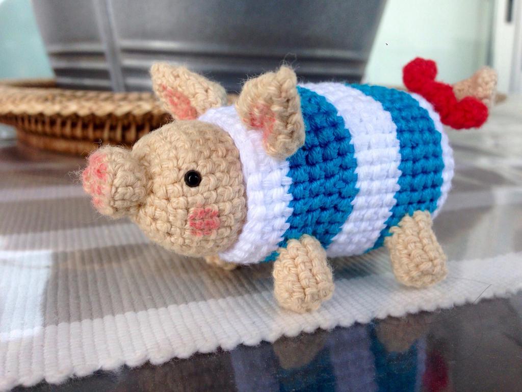 Baby Great Jagras Crochet Pattern / Monster Hunter New World | Etsy | 768x1024