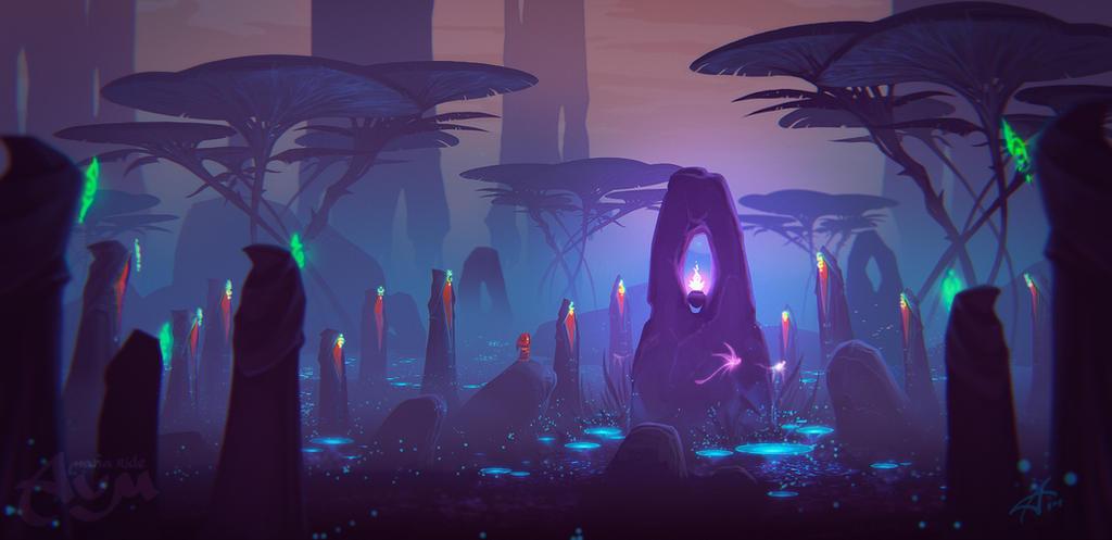 AUM swamp by ArdenRey