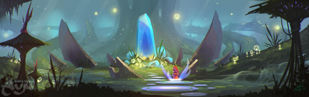 AUM swamp2 by ArdenRey