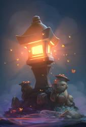 Lighthouse-lantern
