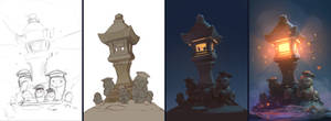 Lighthouse-lantern w.i.p.