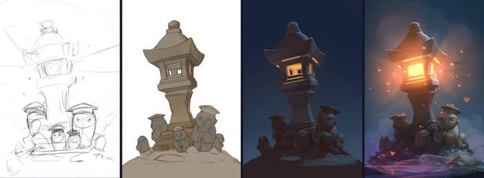 Lighthouse-lantern w.i.p.