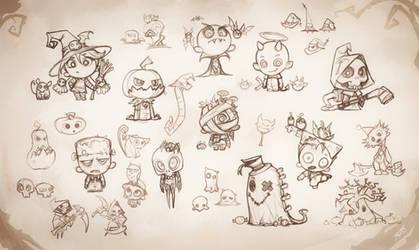 Halloween Drafts