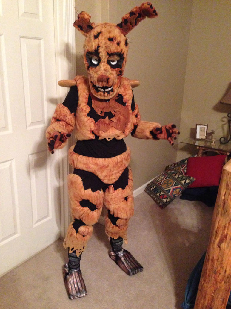 Springtrap by tainteddna artisan crafts costumery costumes cosplay